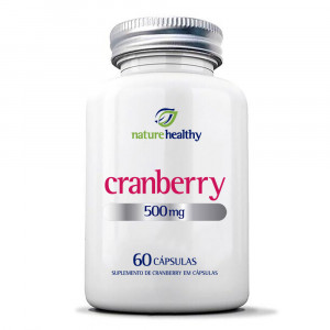 Cranberry Nature Healthy 500mg c/ 60 Cápsulas
