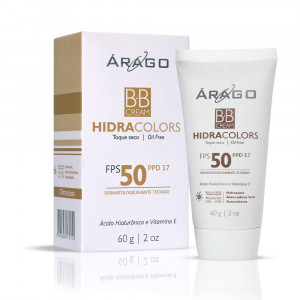BB Cream Hidracolors Protetor Solar Cor Chocolate FPS50 60g