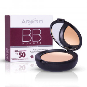 BB Powder Hidracolors Protetor Solar Pó Cor Bege FPS50 12g