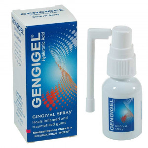 Gengigel Spray Antisséptico Bucal Com Ácido Hialurônico 20mL