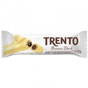 Trento Chocolate Branco-Dark Peccin 32g
