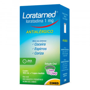 Loratamed Xarope 1mg/mL 100mL