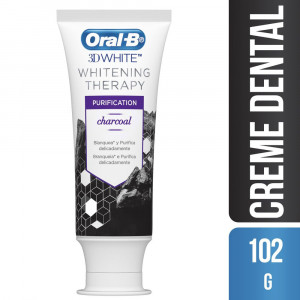 Creme Dental Oral-B 3D Whintening Therapy Purification 102g