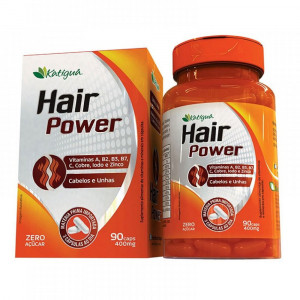 Hair Power Katiguá 400mg c/90 Cápsulas