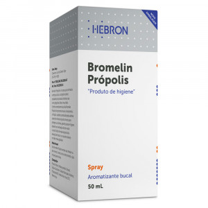 Bromelin Própolis Spray Aromatizante Refrescante Bucal 50mL