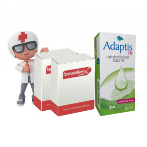 Adaptis Lubrificante 0,1% 10mL+Travamed Colírio 2x2,5mL