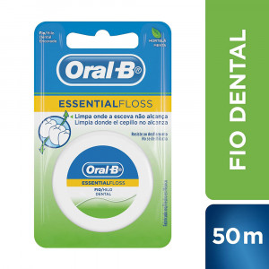 Fio Dental Oral-B Essential Floss Menta 50m