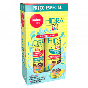 Kit Salon Line Hidra Multy Kids Shampoo +Condicionador 300mL