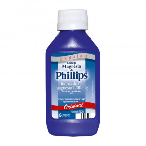 Leite de Magnésia Phillips Original Susp Oral 1200mg 120mL