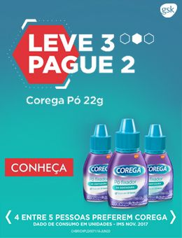 Corega pó categoria